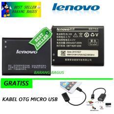 Lenovo Baterai / Battery BL169 For Lenovo A789 / S560 / P800 / P70 - Kapasitas 2000mAh + Bonus Kabel Otg Micro Usb