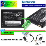 Beli Lenovo Baterai Battery Bl192 Original For Lenovo A750 A680 Kapasitas 2000Mah Gratis Kabel Otg Micro Usb Kredit