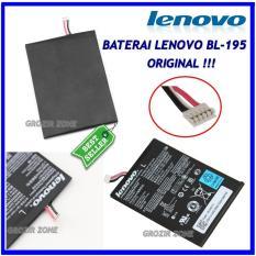 Lenovo Baterai / Battery BL195 Original For Lenovo A2107 / A2207 / A1000 / A3000 / A5000 Kapasitas 3500mAh ( grozir zone )