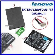 Lenovo Baterai / Battery BL195 Original For Lenovo A2107 / A2207 / A1000 / A3000 / A5000 Kapasitas