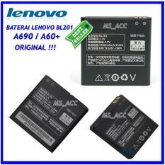 Lenovo Baterai / Battery BL201 Original For Lenovo A690 / A60+ Kapasitas 1500mAh ( ms_acc )