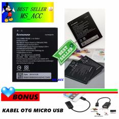 Lenovo Baterai / Battery BL242 Original For Lenovo A6000 / K3 Lemon + Gratis Kabel Otg Micro Usb