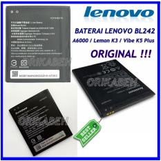 Lenovo Baterai / Battery BL242 Original For Lenovo A6000 / Lemon K3 / Vibe K5 Plus Kapasitas 2300mAh ( orikabeh )