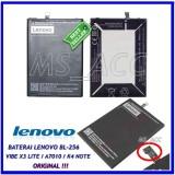 Spesifikasi Lenovo Baterai Battery Bl256 Original For Lenovo Vibe K4 Note X3 Lite A7010 Kapasitas 3300Mah Ms Acc Lenovo Terbaru
