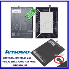 Lenovo Baterai / Battery BL256 Original For Lenovo Vibe K4 Note / X3 Lite / A7010 Kapasitas 3300mAh ( ms_acc )