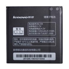 Lenovo Baterai BL194 Original For Lenovo A288T A298T A520 A660 A698T A690 A370 A530  [1500 mAh]