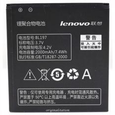Spesifikasi Lenovo Baterai Bl 197 High Power 2000 Mah Hanya Untuk Lenovo 798T A800 S720 Original Lenovo