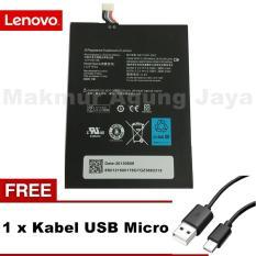 Lenovo Baterai Tab A1000 Original  for Lenovo Tab A1000 + Free Kabel USB Type Micro