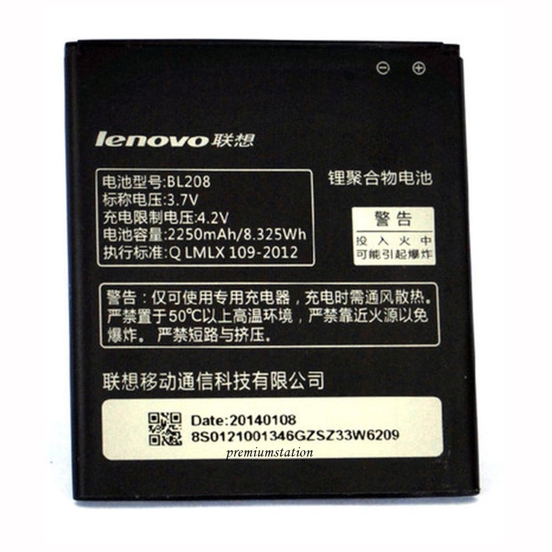 Jual Lenovo Baterai Type Bl 208 For Lenovo S820 A656 A658T 2000 Mah Capacity 3 7V Grosir