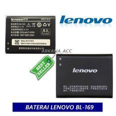 Lenovo Battery BL169 Original Baterai For Lenovo A789 S560 P800 P70 Kapasitas 2000mAh