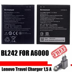 Lenovo Battery BL242 For Type A6000 Free Lenovo Travel Charger 1.5A