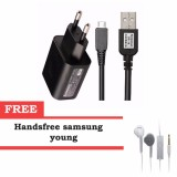 Jual Cepat Lenovo Charger 2A Original Hitam Samsung Headset Young Putih