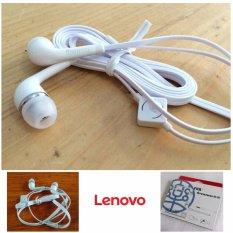 Lenovo Handsfree For Lenovo Headset / Earphone For All Phone Model Stereo Bass Portable - Putih