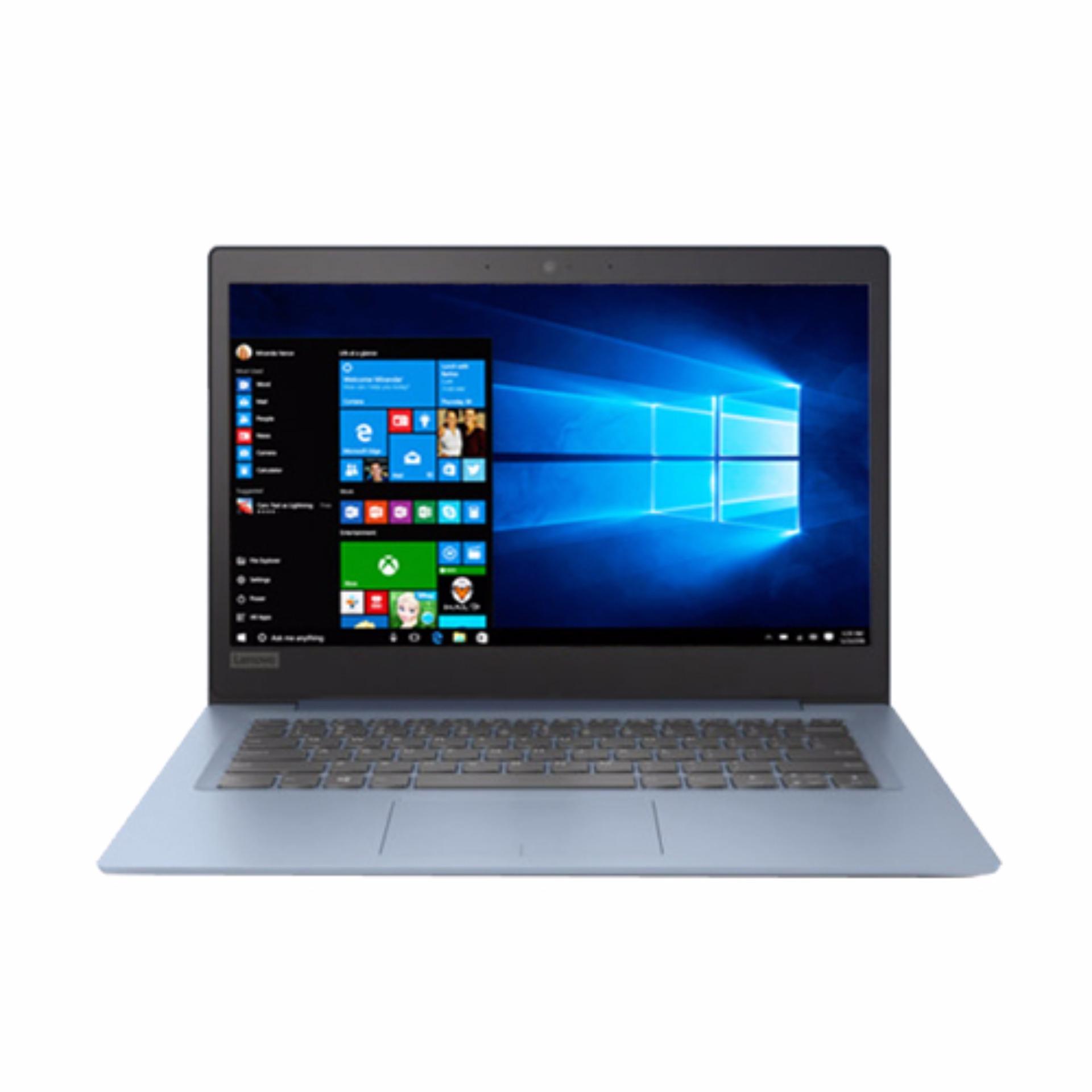LENOVO Ideapad 120S-3TID | Layar 11.6 HD | Intel Celeron N3350 | 2GB | 500GB | WIN 10 | Denim Blue
