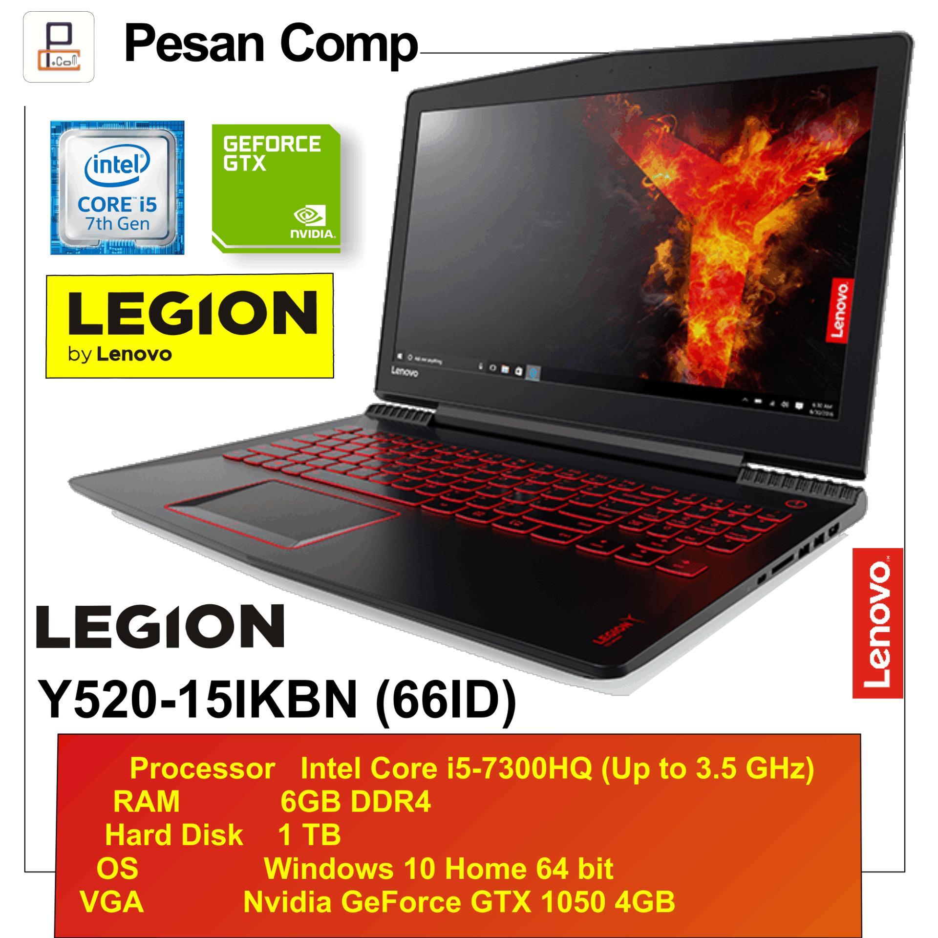 Lenovo Legion Y520 66ID Win10 RAM 6GB GTX1050 4GB 1TB 156 IPS FHD