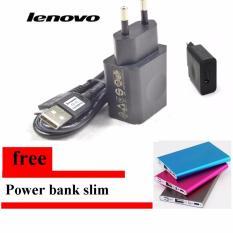 Jual Lenovo Travel Charger Micro Usb 2 A Original Hitam Branded Murah