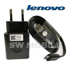 Lenovo Travel Charger Micro USB 2A Original 100% - Hitam