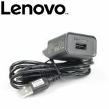 Beli Lenovo Travel Charger Micro Usb 2A Original Baru
