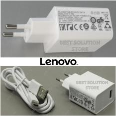 Lenovo Travel Charger Output 2A Type:C-P36 Micro USB Original 100% - Putih