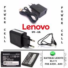 Review Toko Lenovo Charger Micro Usb 2A Original Gratis Lenovo Baterai Bl171 For Lenovo A390 A60