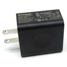 Lenovo USB Wall Charger 1 Port US Plug 2A - PA-1100-17UL - Black / Hitam Casan Chargeran Cepat Isi Berkualitas Original