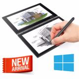 Toko Jual Lenovo Yoga Book Yb1 X91F Win10 New Model Atom X5 Z8550 4Gb 64Gb 10 1 Fhd Black