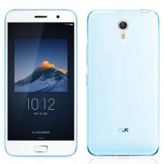 Lenovo ZUK Z1 Case Cover 4 Warna Matte TPU Soft Back Cover Phone Case untuk ZUK Z1 (Biru)