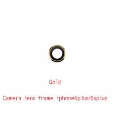 Kaca Lensa Bingkai Pengganti Bagian untuk Apple iPhone 6 Plus/6 S PLUS Lensa Kamera