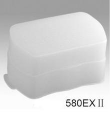 Lensa Kerudung Senter Pantul Cap Diffuser Soft Box untuk Can0n 580EX 580 EX II
