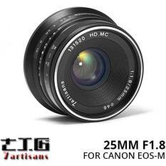 Lensa 7ARTISANS 25MM F1.8 FOR Mirrorless CANON EOS-M