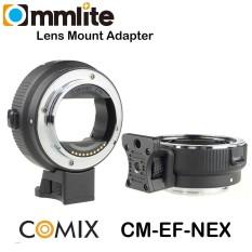 Lensa Adapter Commlite EF E-Mount Adapter EF/EFS lens to Sony NEX Mirrorless Camera