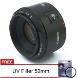 Toko Lensa Canon Ef 50Mm F 1 8 Ii Fix Free Uv Filter Indonesia