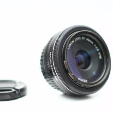 lensa fix Canon f2.8, 40mm diameter, 52 STM, macro 0.3meter, non box