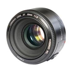 Lensa Fix Yongnuo 50mm f/1.8 Lens for Canon - Hitam