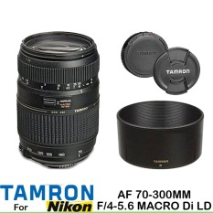 Lensa Tamron For NIkon AF 70-300MM F 4-5.6 MACRO DI LD