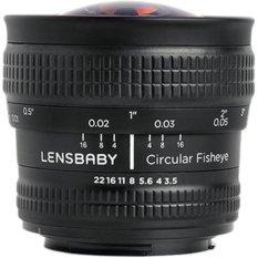 Lensbaby 5.8 Mm F/3.5 Circular Lensa Mata Ikan untuk Nikon F-Intl
