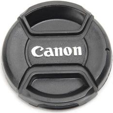 Lenscap Canon 52mm || Cover Tutup Lensa Kamera Canon 52mm || Tutup Lensa FIX Canon