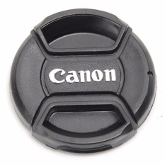 Lenscap Canon 58mm - Tutup Lensa Kit Canon 18-55mm