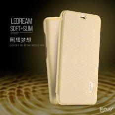 Lenuo Flip PU Kulit Phone Case untuk Xiaomi Redmi Note 3 Pro Special Edition 152mm-Intl
