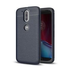 Lenuo TPU Tahan Ledak Dermatoglyph Silicone Shell Soft Mobile Phone Cover Case untuk Motorola MOTO G4 dan G4 PLUS -Intl