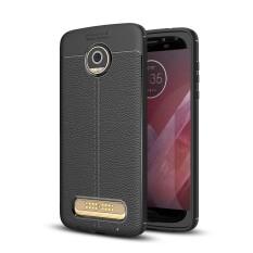 Toko Lenuo Tpu Tahan Ledak Dermatoglyph Silicone Shell Soft Mobile Phone Cover Case Untuk Motorola Moto Z2 Bermain Intl Terlengkap Tiongkok