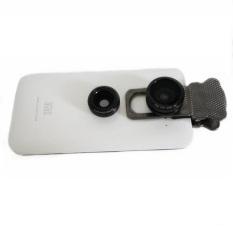 Lesung Universal Fisheye Clamp Camera Lens Clip Lx U302 Hitam Asli