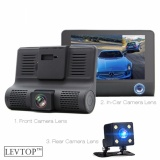 Jual Levtop 3 Lens Car Camera Dashcam Camcorder Hd Cam Intl Levtop