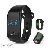Jual Levtop Fitness Tracker Aktivitas Monitor Manajemen Tidur Heart Rate Monitor Tekanan Darah Tracker Pedometer Smart Bracelet Dengan Ip67 Tahan Air Oled Layar Sentuh Untuk Android Dan Ios Hitam Intl Satu Set