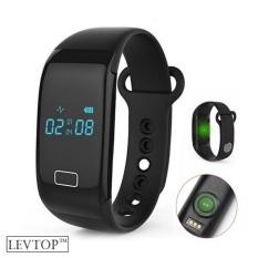 Toko Levtop Fitness Tracker Aktivitas Monitor Manajemen Tidur Heart Rate Monitor Tekanan Darah Tracker Pedometer Smart Bracelet Dengan Ip67 Tahan Air Oled Layar Sentuh Untuk Android Dan Ios Hitam Intl Lengkap Di Tiongkok