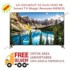 LG 43UJ652T 43 Inch UHD 4K Smart TV Magic Remote WEBOS-KHUSUS JABODETABEK