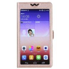 LG AKA Case Full Screen Cover Casing - Gold