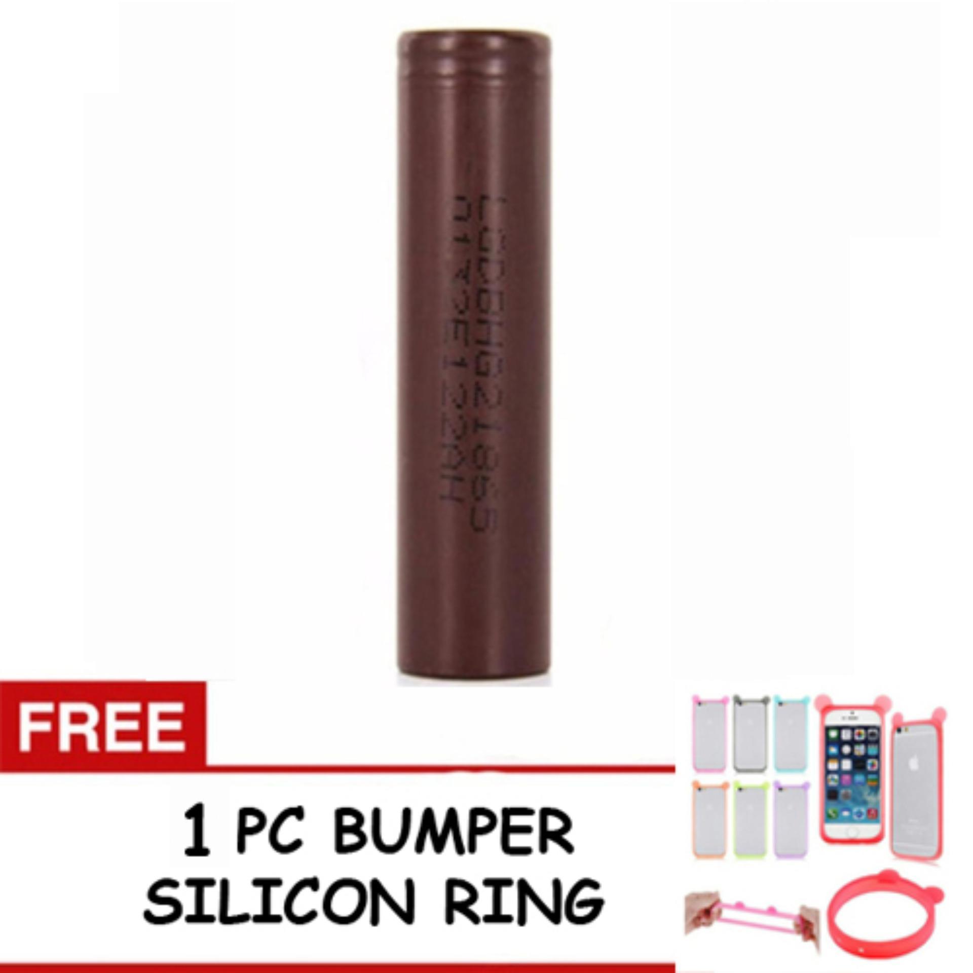 Price Checker LG Baterai Rokok Elektrik Mods Vape Vapor 18650 3000 mAh Coklat + FREE 1