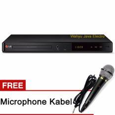 LG DVD Player Suport Usb Dan Karaoke DP 547- Hitam + Free Microphone Kabel