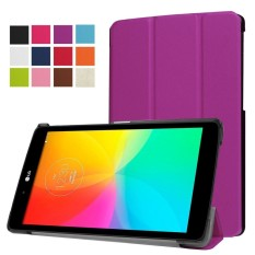 LG G Pad X 8.0 Case Ultra Slim Lightweight PU Leather Stand Cover for LG G Pad 3 III 8.0 V525 8-Inch Tablet - intl